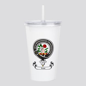 Badge-Rose [Inverness] Acrylic Double-wall Tumbler